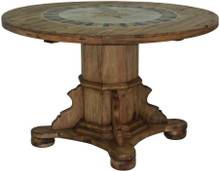 Ixtapa Stone Top Dining Table w/ Star
