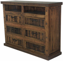 Antigua Dresser w/ Shelves