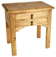 Del Mar 2 Drawer End Table