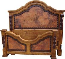 Lazaro Queen Bed w/ Copper