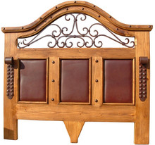 Lilliana Queen Headboard w/ Leather