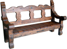 Mesquite Duela Bench