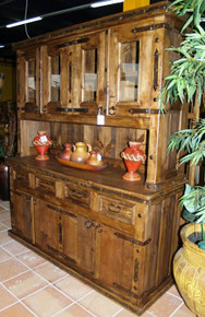 Four Door Kitchen Hutch