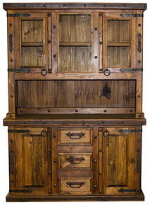 Two Drawer Kitchen Hutch