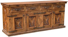 Carved 84'' Buffet