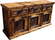 Carved 72'' Buffet 50% OFF * 1 LEFT AT THIS PRICE