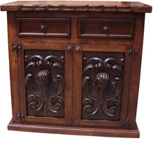 Angels Carved 2 Drawer Buffet