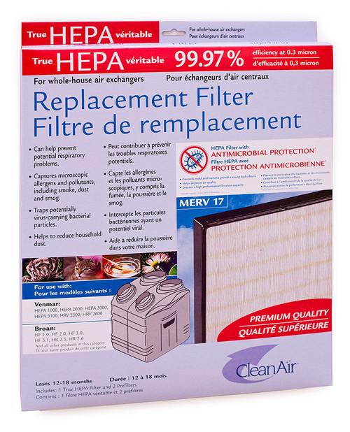 Venmar Air Exchanger Filters