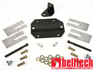 "Belltech 87-96 Ford F150 Ext Cab W/2 piece driveshaft angle correction kit w/4-7"" drop"
