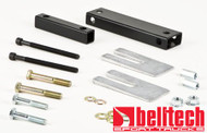 "Belltech 88-98 Chevrolet C1500/2500/3500 Pickup w/ 2 piece driveshaft angle correction kit w/4"" drop"