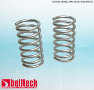"Belltech 70-81 Chevrolet Camaro Firebird 75-79 Nova Cutlass 0"" Lowering Springs Front"