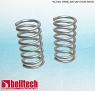 """Belltech 73-77 Chevrolet El Camino Malibu Monte Carlo 73-75 Apollo 73-77 Regal Skylark  0"""" Lowering Springs Front"""