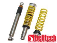 Belltech 02-09 Chevrolet Trailblazer Front Coilovers & Rear Shocks Stainless Steel,Adj. Rebound & Compression dampening