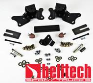 Belltech 88-98 Chevrolet Silverado/Sierra 3/4 Ton&1 Ton 2' Hanger Kit