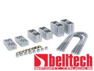 "Belltech Universal 3"" Extruded Aluminum Lowering Blocks"