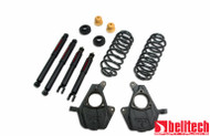 """Belltech 00-06 Avalanche 2"""" Front/2"""" or3"""" Rear Drop w/ND2 Shocks Lowering Kit 761ND"""