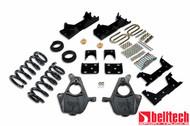 """Belltech 01-06 Silverado/Sierra Std Cab 4""""/5"""" Front/6"""" Rear Drop Lowering Kit 667"""