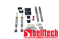 """Belltech 04-08 Ford F150 2WD +1"""" to 3"""" Front/5"""" Rear Drop w/SP Shocks Lowering Kit 914SP"""