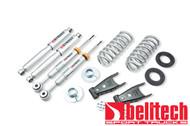 "Belltech 04-08 Ford F150 4WD 2""/3"" Front/2""/4"" Rear Drop w/SP Shocks Lowering Kit 933SP"