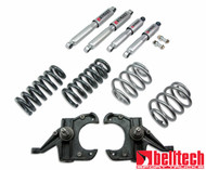 "Belltech 63-70 C10 4"" Front/5"" Rear Drop w/SP Shocks Lowering Kit 952SP"