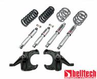 """Belltech 71-72 C10 4"""" Front/5"""" Rear Drop w/SP Shocks Lowering Kit 709SP"""