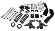 "Belltech 92-94 Suburban 2WD 4""/5"" Front/7"" Rear Drop w/SP Shocks Lowering Kit 787SP"