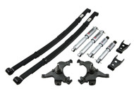 "Belltech 92-99 Suburban 2WD 2"" Front/4"" Rear Drop w/SP Shocks Lowering Kit 782SP"