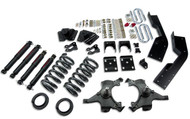 "Belltech 95-99 Suburban 2WD 4""/5"" Front/7"" Rear Drop w/ND2 Shocks Lowering Kit 784ND"