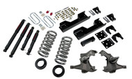 "Belltech 97-00 Silverado/Sierra 3/4 Ton & 1 Ton Ext, Crew Cab/Dually 4""/5"" Front/8"" Rear Drop w/ND2 Shocks Lowering Kit 717ND"