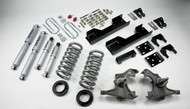 "Belltech 97-00 Silverado/Sierra 3/4 Ton & 1 Ton Ext, Crew Cab/Dually 4""/5"" Front/8"" Rear Drop w/SP Shocks Lowering Kit 717SP"
