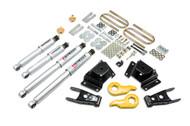 "Belltech 97-03 Ford F150 4WD 1""/3"" Front/3"" Rear Drop w/SP Shocks Lowering Kit 937SP"