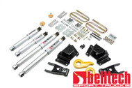 "Belltech 97-03 Ford F150 4WD 1""/3"" Front/4"" Rear Drop w/SP Shocks Lowering Kit 938SP"