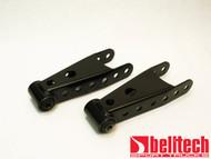 "Belltech 01-10 Chevrolet Silverado/Sierra 1500/2500/3500HD 3"" Rear Shackles"
