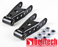 "Belltech 07-14 Chevrolet Silverado/Sierra 1/2 Ton 2' or 3"" Rear Drop Shackles"