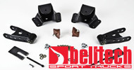 "Belltech 75-91 Chevrolet 1 Ton Crew Cab & Dually 4"" Rear Drop Shackles & Hangers"