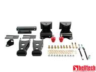 "Belltech 88-98 Chevrolet Silverado/Sierra 1/2 Ton Ext Cab 4"" Rear Drop Shackles & Hangers"