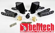 "Belltech 88-98 Chevrolet Silverado/Sierra 1/2 Ton Std Cab 4"" Rear Drop Shackles & Hangers"