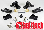 """Belltech 90-94 Chevroelt Silverado/Sierra 1/2 Ton SS 454 Only 4"""" Rear Drop Shackles & Hangers"""