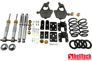"2014 Chevrolet Silverado/Sierra (Ext. & Crew Cab) 2wd 3"" or 4"" F/5"" or 6"" R Drop W/ Street Performance Shocks"