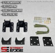 "Street Edge 14+ Chevy Silverado/GMC Sierra 1500 2WD 5"" to 6"" Flip Kit"