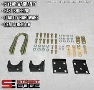 "Street Edge 14+ Chevy Silverado/GMC Sierra 1500 2WD 7"" Flip Kit"