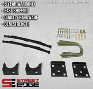 "Street Edge 04-10 Nissan Titan 2WD 4"" Flip Kit"