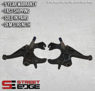 "Street Edge 82-04 Chevy S10/GMC Sonoma/GMC S15 Pickup 2WD 2"" Drop Spindle Set"