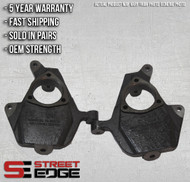 "Street Edge 02-06 Chevy Avalanche 2WD/4WD 2"" Drop Spindle Set"