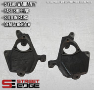 "Street Edge 07-14 Chevy Silverado/GMC Sierra 1/2 Ton 2WD/4WD 2"" Drop Spindle Set"