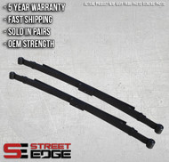 "Street Edge 82-04 Chevy S-10/GMC S-15,Sonoma Pick Up 3"" Lowering Leaf Spring Set"