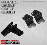"Street Edge 88-98 Silverado/C-1500/Sierra Ext Cab 4"" Rear Shackle & Hanger Kit"