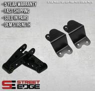 """Street Edge 94-99 Dodge Ram 1500 Extended Cab V8 4"""" Rear Shackle & Hanger Kit"""