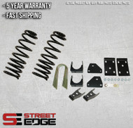 "Street Edge 02-05 Dodge Ram 1500 2WD Regular Cab 2"" Front & 5"" Rear Lowering Kit"