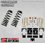"Street Edge 09-13 Ford F-150 Extended,Crew Cab 2WD 3"" Front & 5.5"" Rear Lowering Kit"